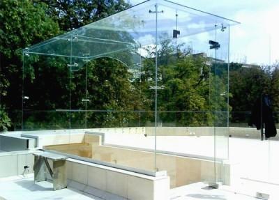 Беседки из стекла